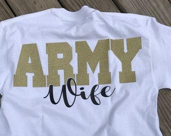 Army Wife, Long Sleeve Tee