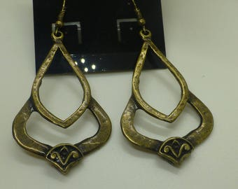 Large Bronze Earrings