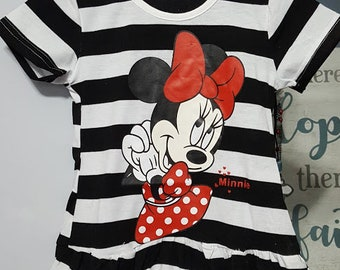 Minnie Mouse Stripped Dress