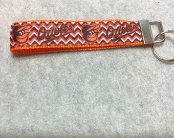 Orioles Handmade Key Fob Wristlets