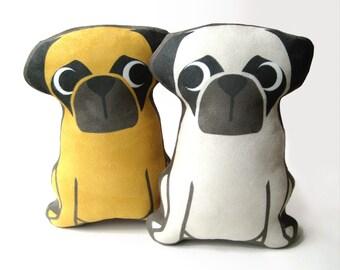 Pug Plush Pillow