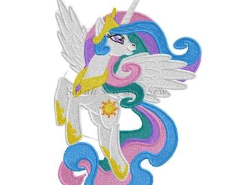 Princess Celestia - My LIttle Pony Embroidery Design