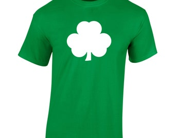 Big Clover T-Shirt St Patrick's Day Paddy's Day Novelty 2017