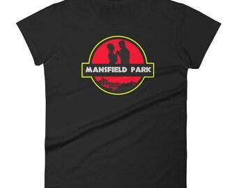 Women's Jane Austen Mansfield Park Books t-shirt