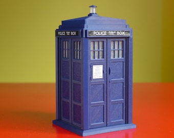 "TARDIS - 6"" 3D Printed Kit"
