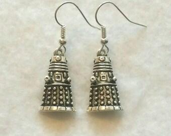 Doctor Who Dalek Earrings