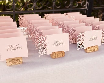 Wedding place cards etsy more colours wedding place cards junglespirit Images