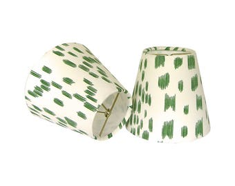 Green Sconce Shades, Chandelier Shades, Les Touches Lampshades, Animal Print Sconce Shades, Contemporary Lampshades, Multiple Sizes