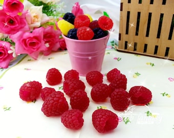 Raspberries Silicone mold for soap