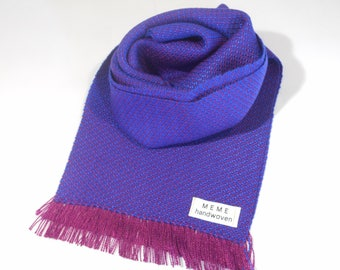 Handwoven Twill Scarf - Tencel