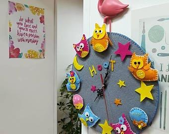 Clock of the Owls _ Owls ' clock