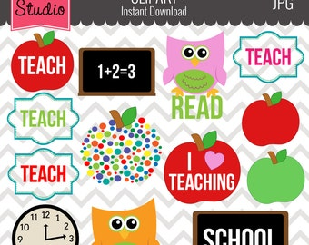 Education Clipart, Chalkboard Clipart, Classroom Clipart, Teacher Clipart, Apple Clipart  - Objects101