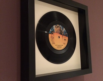 """Barry White """"Just The Way You Are"""" Framed Vinyl Gift"""