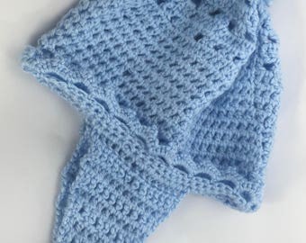 Handmade Crochet Baby Trapper Hat