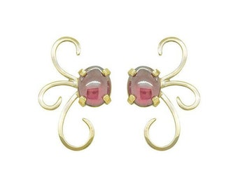 Silk Road Collection- Persia Large Stud Earrings