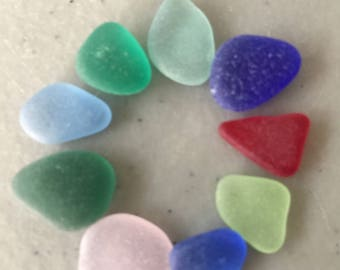 Best Sea Glass Lot, Genuine Beach Glass Beads, Jewelry Supply Beads, Bracelet Supply, Necklace Supply, Seaglass Supply