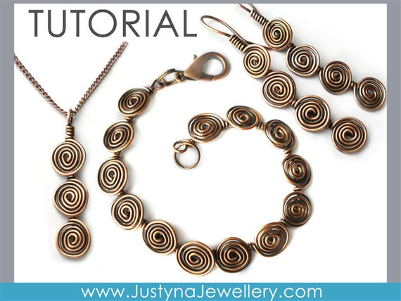 Draht Schmuck Tutorial Wire Wrapping Tutorial lange Ohrringe