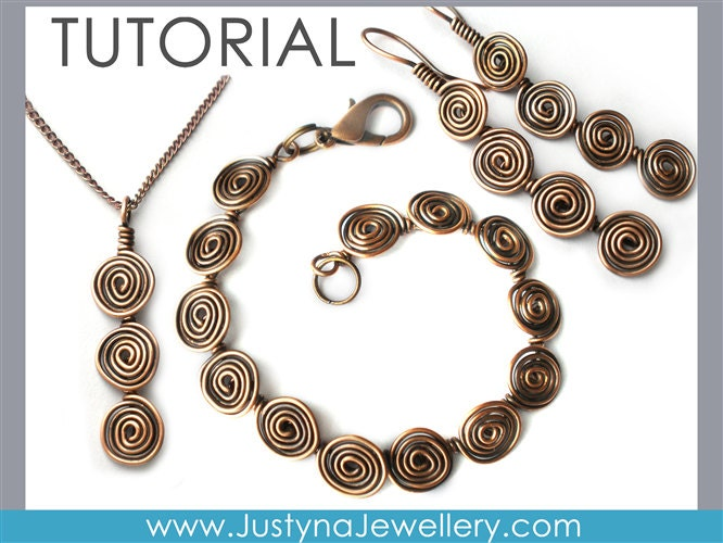 Wire Jewelry Tutorial, Wire Wrapping Tutorial, Long Earrings ...