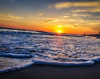 Panama City Beach Florida Sunset Fine Art Print - Travel, Scenic, Landscape, Nature, Home Decor, Zen