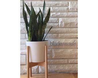 Mid-Century Modern Plant Stand (Custom Made)