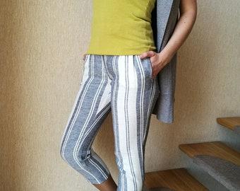 Linen Fashion Pants