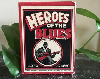 R. Crumb Heroes of the Blues   Vintage Cards
