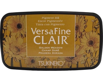 Tsukineko VersaFine Clair GOLDEN MEADOW Ink Pad