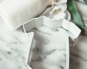 Baby Bodysuit Poly Resin Color Coated  Cookie Cutter