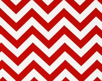 Red Chevron Wristlet , Pleated Wristlet, Purse, Clutch. Wallet, Zippered Pouch, Handbag- Red and White Wristlet.