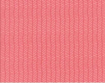 Sugar Pie - Herringbone in Pink by Lella Boutique for Moda - 5044 19