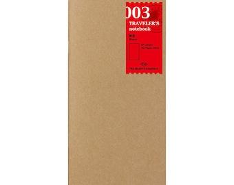 TN Refill - Regular Size - 003 Blank