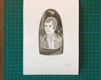 A5 Robert Burns Print