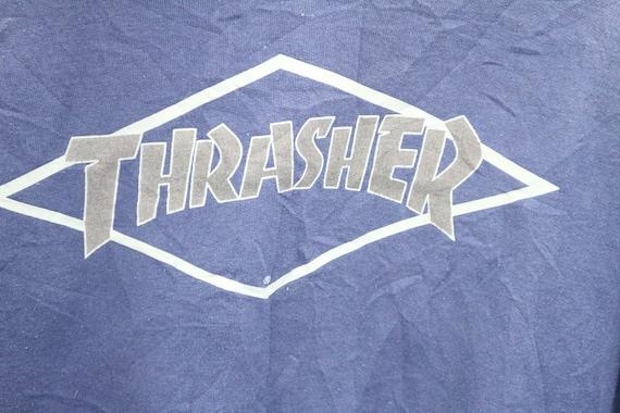 to Magazine Pullover 50 Live 90 Medium Thrasher Size Logo Skate Die Big Skateboard Sweater 50 Skate Vintage to tz0qBw0