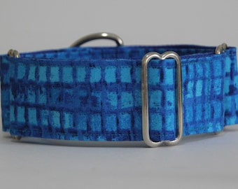 "Whippet Blue 1.5"" Martingale Collar"