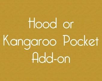 Add On Hood Or Kangaroo Pocket