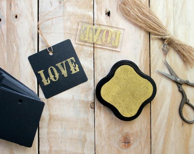 Love Word Stamp
