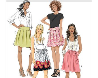 Butterick Skirts Sewing Pattern, New Uncut, Out of Print, Size 14-22 or 6-12, EASY