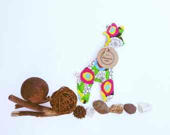 organic crinkle toy, baby toy giraffe organic, giraffe rattle toy organic, organic baby gift, baby shower gift organic, organic sensory toy