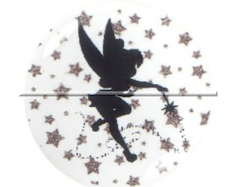 1 cabochon 25mm glass, fairy tale