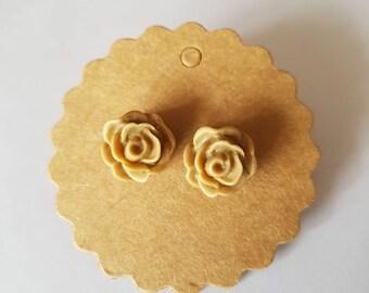 Beidge Rose Earrings