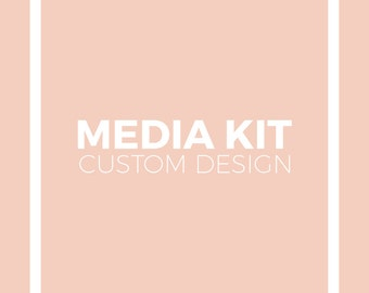 Custom Media Kit Design for Your Blog or Custom Press Kit for Your Business