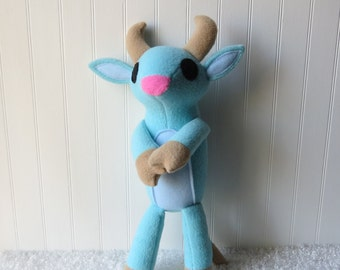 Babe the Blue Ox, Ox Plush, Folktale Plush
