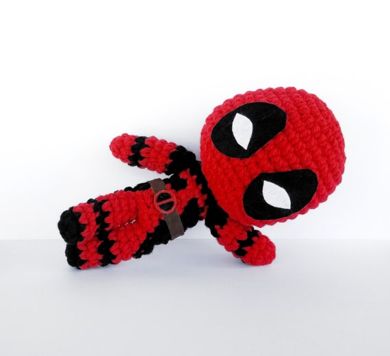 Deadpool Crochet Pattern - Descarga Instantánea - Deadpool - Patrón ...