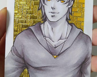Limited Print Aceo / ATC  Gold Version 1-2