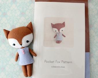 Pocket Fox Pattern Kit