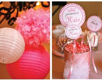 DIY Pink Princess Party