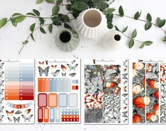 Butterfly || Weekly Planner Kit (75+ Planner Stickers) || Erin Condren, Happy Planner, Recollections || SeattleKangarooPlans