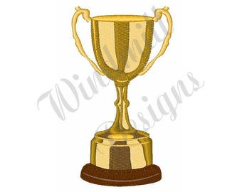 Trophy - Machine Embroidery Design
