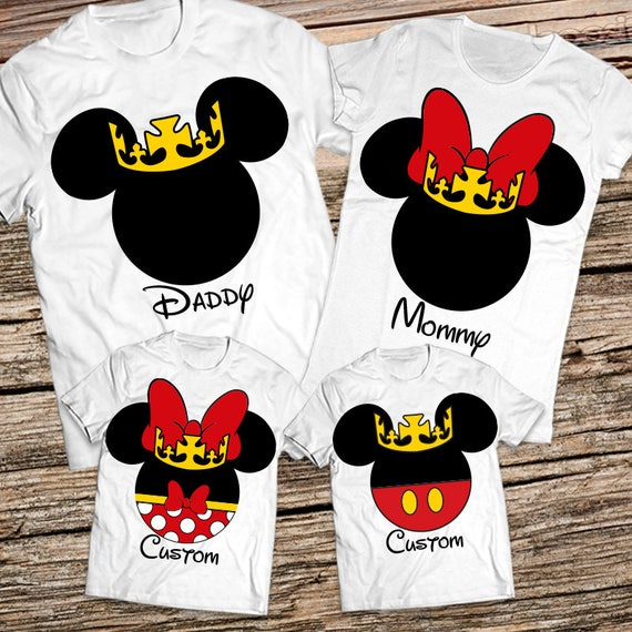 Family Shirts For Disney Custom Disney Vacation Shirts