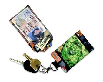 Marvel Incredible Hulk ID Wallet, Mini Wallet, Lanyard ID Holder, Luggage Tag, Vacation ID Wallet
